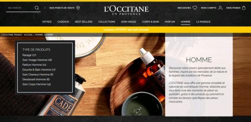 Réseaux sociaux, m-commerce, l'Occitane, digital