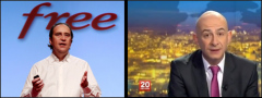 Xavier Niel, Francois Lenglet, Free, France2