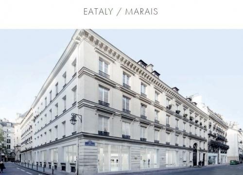 Eataly, Galerie, Lafayette, Marais