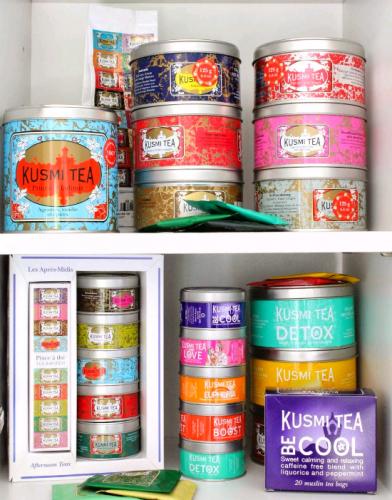 Kusmi Tea, thé premium